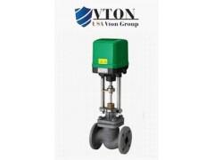 进口蒸汽电动调节阀选型介绍/美国威盾VTON品牌