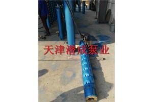 250QJ90KW300米熱水深井泵-天津水泵廠家(潛成)