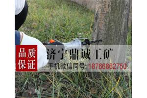 安徽巢湖果树林木防止病虫害打孔注药机 汽油背负式树干钻孔机