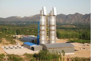 山东万达第四代节能环保石灰窑技术先进、能耗低,质量保证