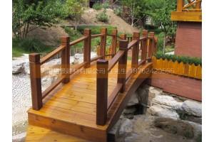湖南印尼菠萝格防腐木木桥