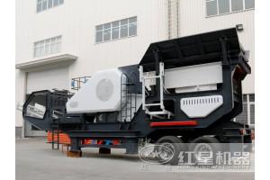 购置一台处理100吨建筑垃圾的移动破碎机费用分析LYT70
