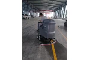 鲁山叶县郏县宝丰沁阳孟州延津高美洗扫一体机用于地面开荒效率高