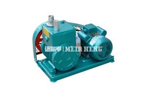2X雙級旋片式真空泵工業用高真空樹脂脫泡機皮帶輪真空泵
