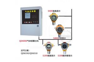 化学品库房气体报警器S100酒精探头QD6000主机