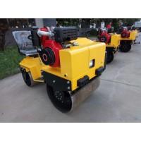 双钢轮小型震动压路机山西大同 坐骑式混凝土压实机厂家