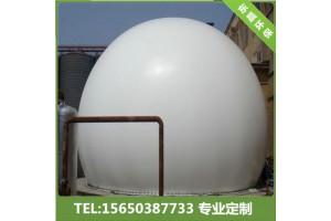 350立方双膜气柜施工 安装450立方沼气储气柜