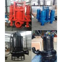 煤矿潜水煤泥泵-耐磨蚀煤渣泵-双搅拌矿沙泵