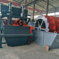 细砂回收机 尾沙回收设备尾矿干排脱水筛 洗沙脱水一体机