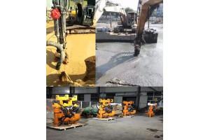挖机驱动抽沙泵,河道疏浚专用挖机清淤泵
