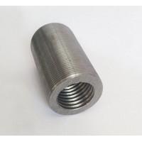 衡水直螺纹钢筋连接套筒钢筋接头钢筋接驳器钢筋套筒生产厂家