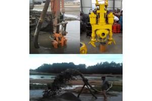 快速转场挖机抽沙泵、行动方便挖机采沙泵
